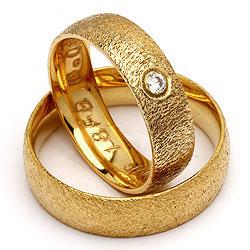 Randers Sølv guldforlovelsesringe