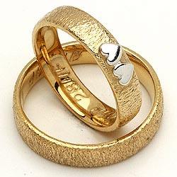 Guld forlovelsesringe fra Randers Sølv