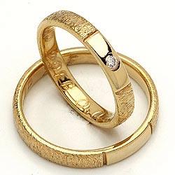 Randers Sølv forlovelsesringe i guld