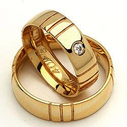 Randers Sølv forlovelsesringe guld