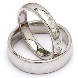 Forlovelsesringe i sølv