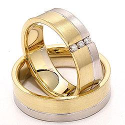 Forlovelsesringe i guld