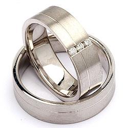 Forlovelsesringe sølv