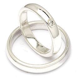 Randers Sølv sølv forlovelsesringe