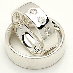 Forlovelsesringe fra Randers Sølv