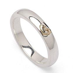 Sølv forlovelsesring