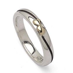 Forlovelsesring i sølv