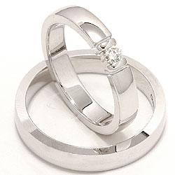 Forlovelsesringe med diamanter